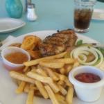 chicken burger Yummy!!