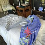 Massage bed out on the lanai.  Private, serene and comfortable.