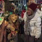 Chamonix Christmas characters