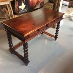 Custom made Walnut desk