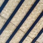 Hasta los techos en tejido de palma