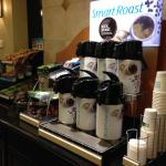 Hot Coffee readily available at the Holiday Inn Express, Durant OK