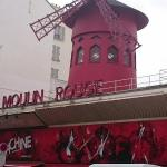 słynne Moulin Rouge