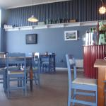 Mrs Clarks Cafe Interior - Jan 2016 - Cannot see the dirty sticky tables...
