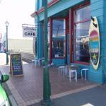 Mrs Clarks Cafe street frontage...