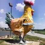 "Shady Lawn "" The Big Chicken"" Truck Stop"