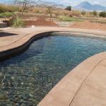 piscina con vista al paisaje