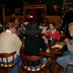 Christmas feast full of fun