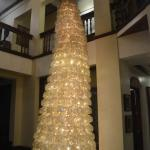 Christmas tree in common area
