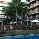 Pool and the rooms