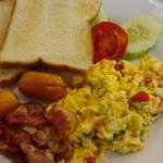 American breakfast