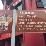 Food street sign in Chinatown