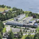 Hotel from the air - Original Sokos Hotel Kuusamo