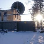 Заброшенная обсерватория в лесу около деревни Зименки