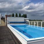 Pool, Dachterrasse
