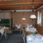 Une des petites salles de restaurant