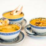 Seafood and Meat Soups