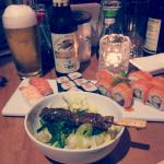 Such a delicious dinner at Katana Sushi.