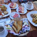 El desayuno de cada mañana, delicioso!