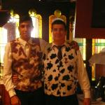 Two of our friendly waiters