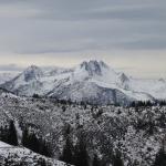 Aussicht auf einen der vielen Berge