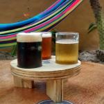 Samplers de Diferentes cervezas artesanales