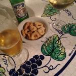 Bier, Wein und Snacks