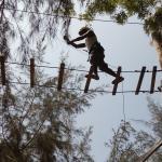 High rope challenge