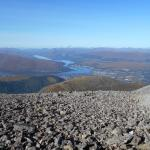 Wow, what a view of Fort William