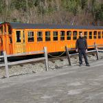 Trem para o cume do Mt. Washington