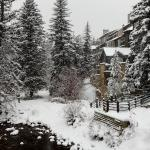 Vail Mtn Lodge in winter
