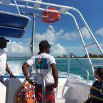 Nice boat, fantastic views!