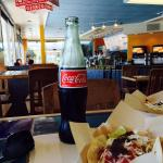 Best $1.50 I've ever spent. Baha Taco Tuesday with cane sugar ice cold bottled, Coke.