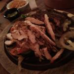 Steak and Chicken fijitas