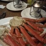 NYE crab leg special