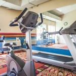 Fitness Workout Facility inside the Recreation Center of Quality Inn & Suites Kansas City Indepe