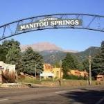 Main street entering Manitou Springs