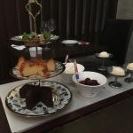 Our delicious Kizuna dessert ...