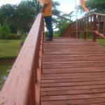 สะพานเดิมข้ามคลองดูวิวรอบรีสอร์ท
