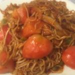 Famous Tomato beef chowmein