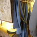 Hanging space and linen bathrobes