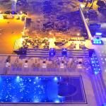 View of Pool cafe from Sky lounge