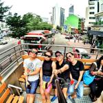 having fun in the double decker, let's explore KL