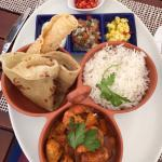 Cape Malay chicken and prawn curry