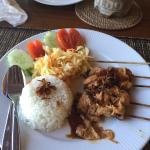Gili Air Santay Restaurant Foto