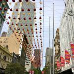 Melbourne in the morning, New Year's day