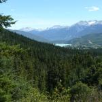 Rainbouw mountain - uitzicht
