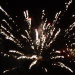 Nyår från taket