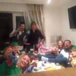 Christmas Day around the table