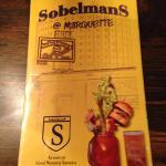 Sobelman's menu Marquette location
